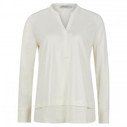 Bluse mit V-Ausschnitt weiss (505 New White) | 40