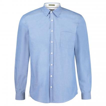 Hemd mit Brusttasche blau (359 Skylight) | 43/44