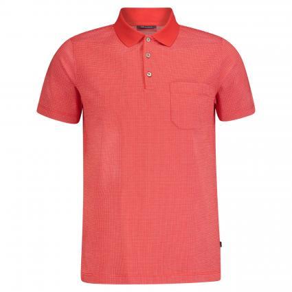 Klassisches Poloshirt  rot (432 Grenadine) | 48