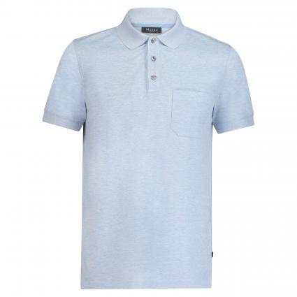 Poloshirt mit Brusttasche blau (346 Star Blue) | 60