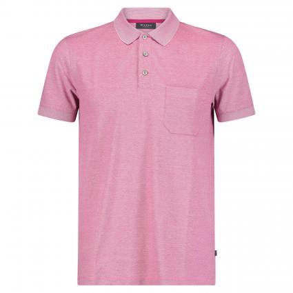 Poloshirt mit Brusttasche pink (710 Pink Duplex) | 60