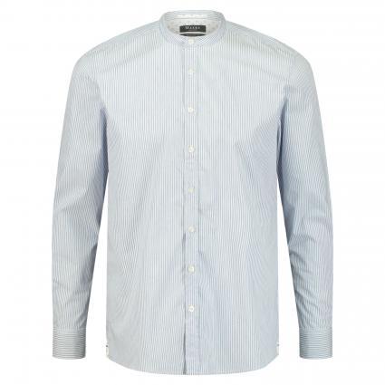 Regular-Fit Hemd mit Stehkragen blau (346 Star Blue) | 41/42