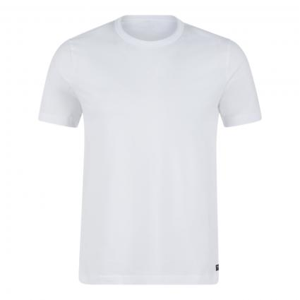 T-Shirt mit Rundhalsausschnitt weiss (501 Pure White)   48