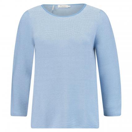 Pullover mit Rundhalsausschnitt blau (323 Forget-Me-Not) | 40