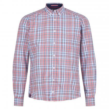 Regular-Fit Hemd mit Karomuster rot (482 Hot Pepper)   39/40