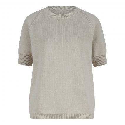 Pullover mit Halbarm weiss (505 New White) | 36