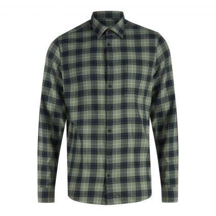 Modern-Fit Hemd mit Karomuster grün (231 Ivy Green) | 37/38