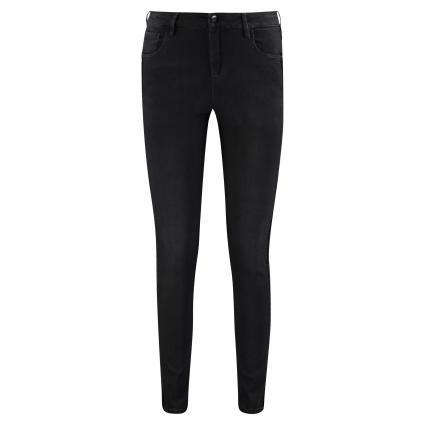 Slim-Fit Jeans 'Cadou' mit Samt-Galonstreifen grau (7293 cloudy greige) | 40