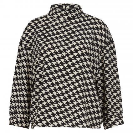 Bluse mit Stehkragen schwarz (900 black)   38