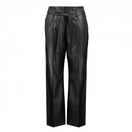 Culotte 'Candidani' in Leder-Optik schwarz (900 black) | 38
