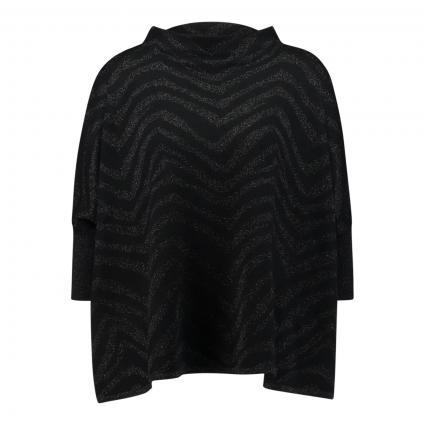 Oversize-Strickshirt 'Tjelvo' schwarz (900 black) | M