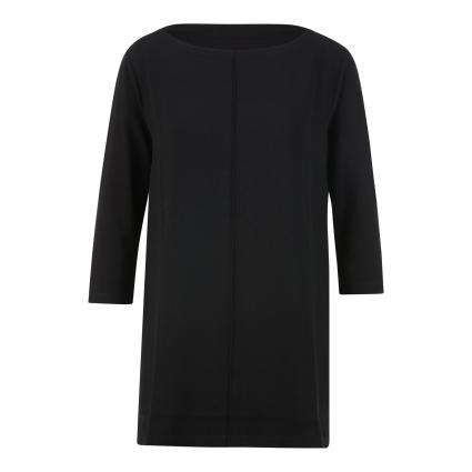 Shirt 'Keyomi' aus Material-Mix schwarz (900 black) | 40