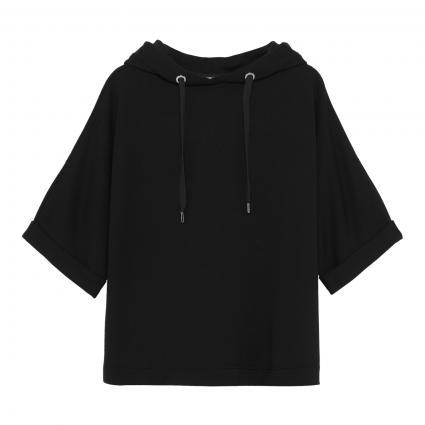 Boxy Hoodie 'Umeli' schwarz (900 black) | S