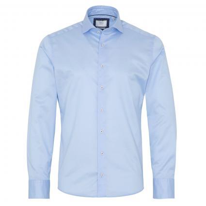 Hemd Langarm blau (10 hellblau)   41