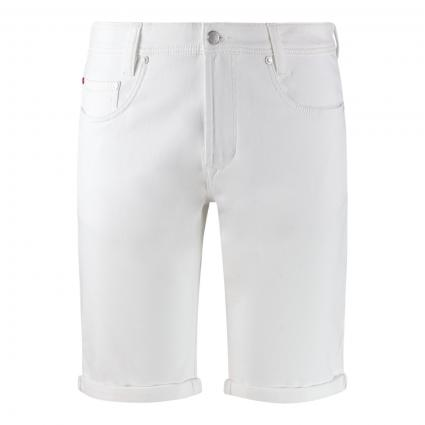 Jeansshorts 'Jogn Bermuda' weiss (H010 white) | 33 | 10