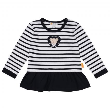 Sweatshirt mit All-Over Muster  marine (3032 STEIFF NAVY) | 80