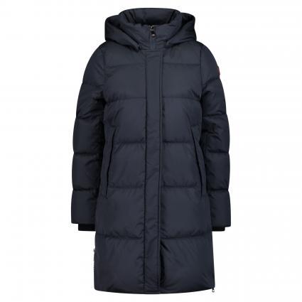 Veste en duvet avec capuche amovible bleumarine (0090 MARINE) | 42