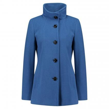 Jacke aus Wolle blau (0820 HELLBLAU) | 42