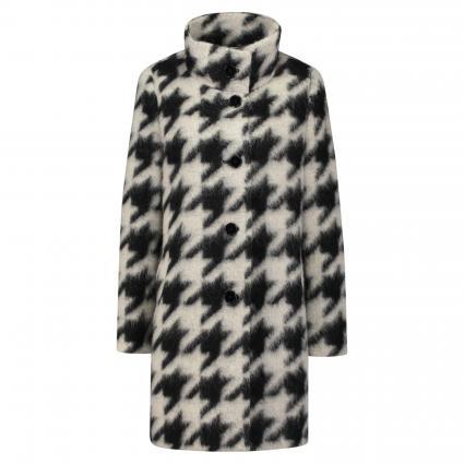 Mantel mit Musterung schwarz (7100 SCHWARZ)   40