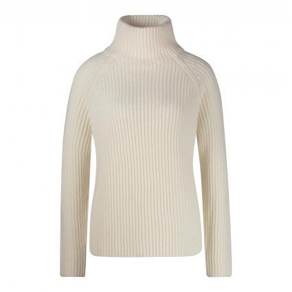 Pullover mit Stehkragen ecru (1900 ecru) | M