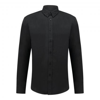 Regular-Fit Hemd 'Loken' schwarz (1000 schwarz) | L
