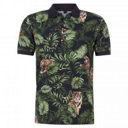 Slim-Fit 'GARRY' Poloshirt schwarz (1000 schwarz)   S