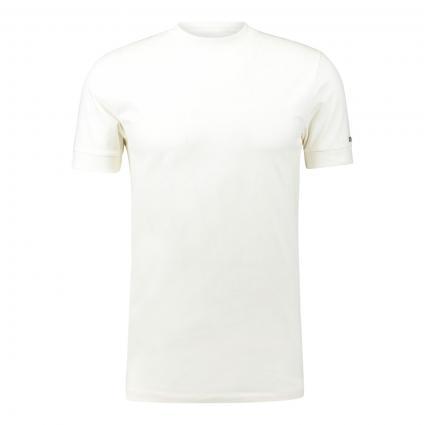T-Shirt 'Anton' mit sportiven Bündchen ecru (1930 ecru) | S
