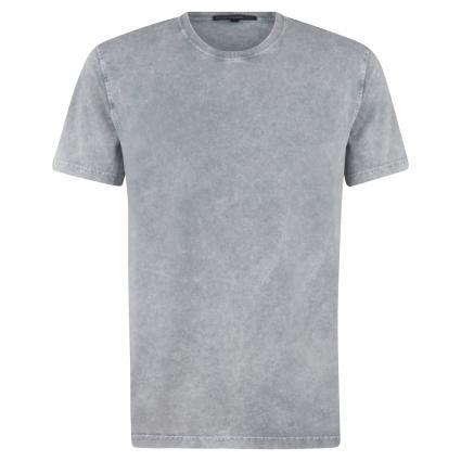 T-Shirt 'Samuel' in melierter Optik grau (6700 grau) | M