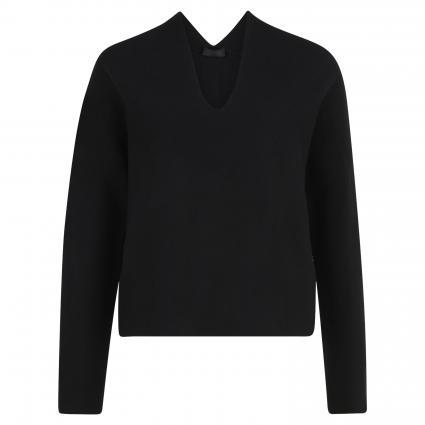 Strickjacke 'Kanela' schwarz (1000 schwarz) | M