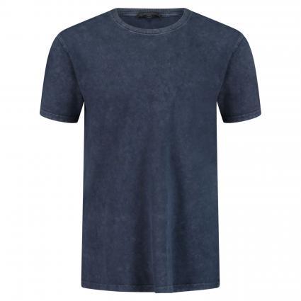 T-Shirt 'Samuel' in melierter Optik marine (3100 blau) | S
