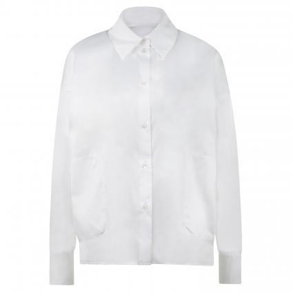 Bluse 'Cloelia' aus Baumwolle weiss (6000 weiss) | 40
