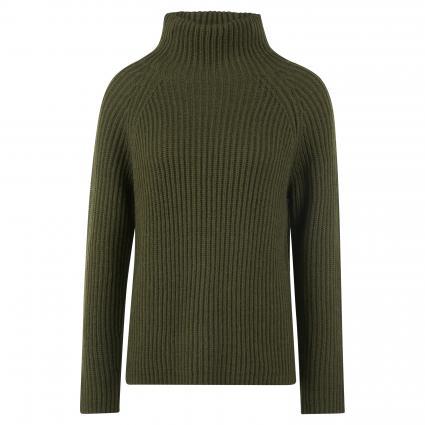 Pullover mit Stehkragen oliv (2111 grün) | L