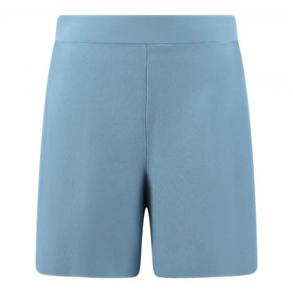 Strick-Bermuda 'Belly'  blau (3510 blau)   S