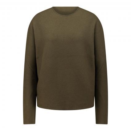 Pullover 'MAILA' oliv (2120 grün) | XL