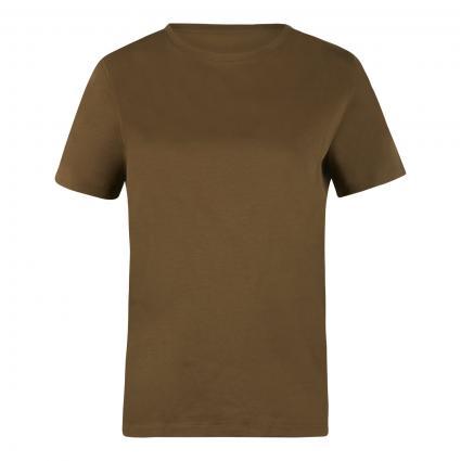 T-Shirt 'Anisia' mit Rundhalsausschnitt oliv (2120 grün) | L