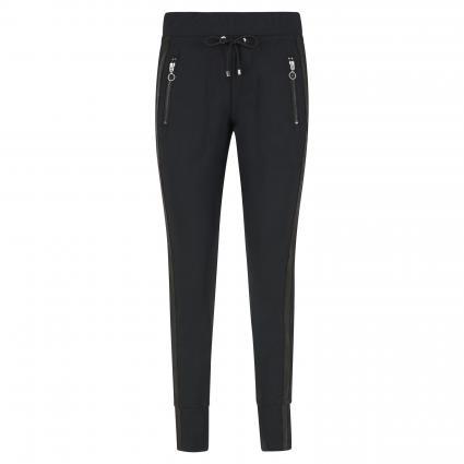 Slim-Fit Hose 'Easy' schwarz (090 black)   38