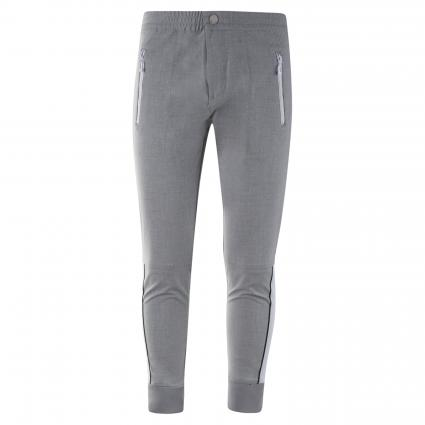 Hose mit abgesetztem Reißverschluss grau (055 metal grey) | 31 | 29