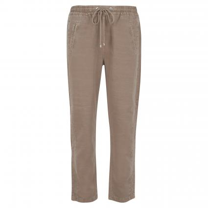 Leichte Hose 'Easy' mit Tunnelzug taupe (244R taupe PPT) | 44 | shape