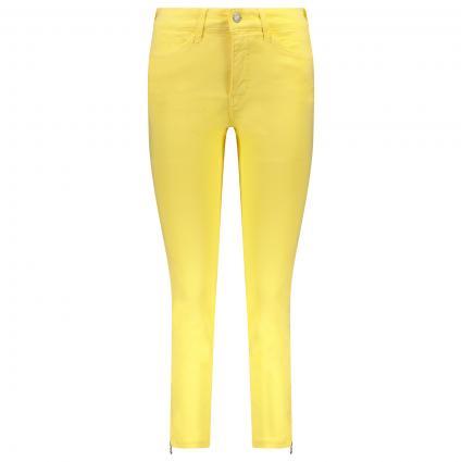 Regular-Fit Jeans 'Dream Chic' mit Reißverschlussdetail gelb (521R sunny yellow PP) | 44 | 27