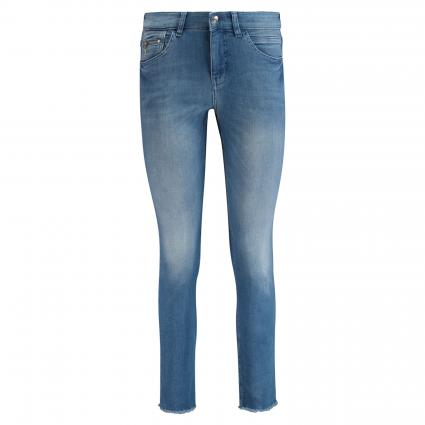 Straight-Fit 'SLIM' Jeans blau (D245 light blue edgy) | 44 | 27