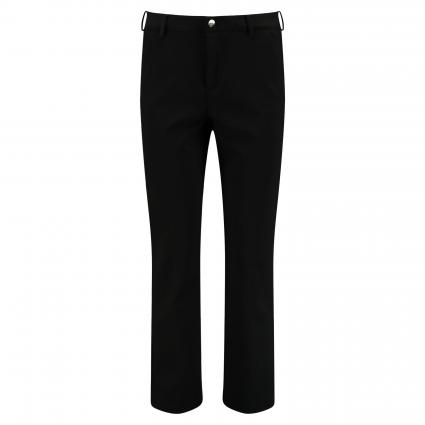 Modern-Fit Chino 'Kick'  schwarz (090 black) | 44 | 26