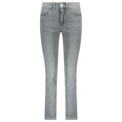 Straight Leg Jeans 'Angela'  grau (D374 light random st) | 38 | 32
