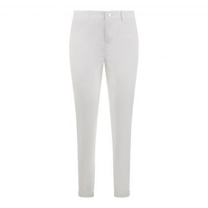 Regular-Fit Hose 'Chino' weiss (010 white) | 46
