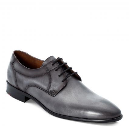 Schnürschuh 'Manon' aus Leder grau (2 1 - SMOKE) | 8