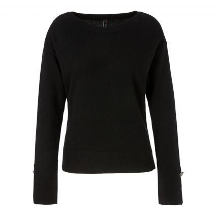 Pullover aus reinem Cashmere schwarz (900 black)   38