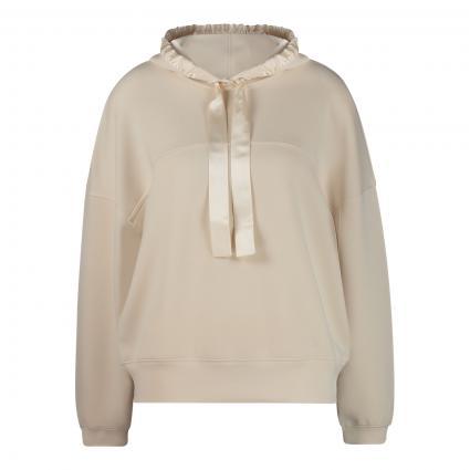 Sweatshirt mit Kapuze  ecru (125 cream) | 42