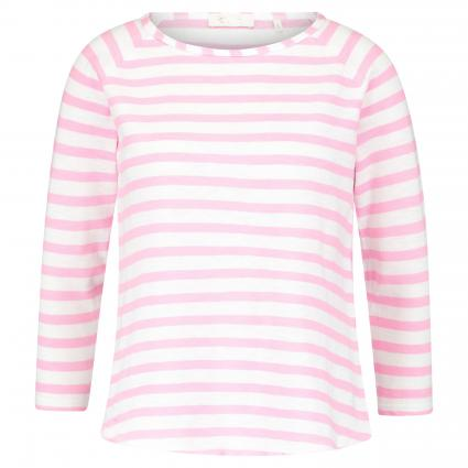 Langarmshirt mit Ringelmuster pink (527 spring pink)   S