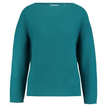 Pullover mit Rundhalsausschnitt  petrol (777 petrol blue) | XL