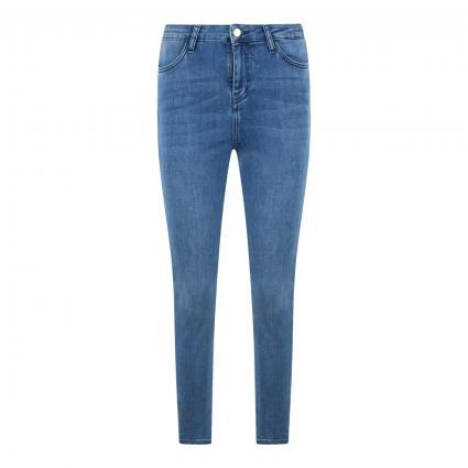 Slim-Fit Highwaist-Jeans blau (710 apearl blue) | 30 | 32