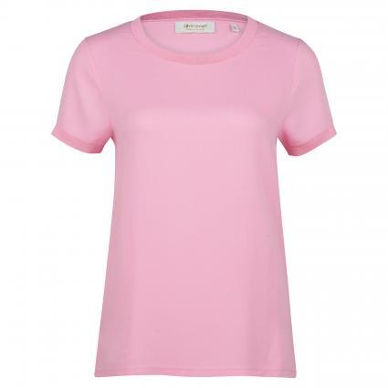 T-Shirt mit Rundhalsausschnitt  pink (527 spring pink) | S